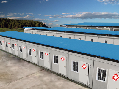 Shipping Container Hospitals