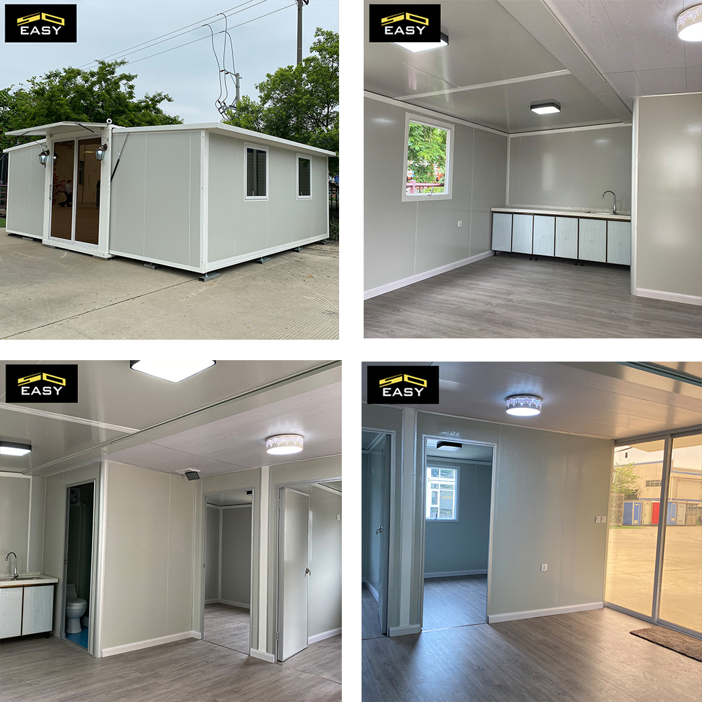 freight storage city luxury expandable container house in Singapore