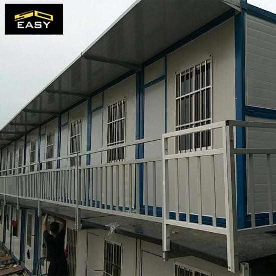 Sandwich panel container house